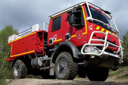 Camion de pompier Sides