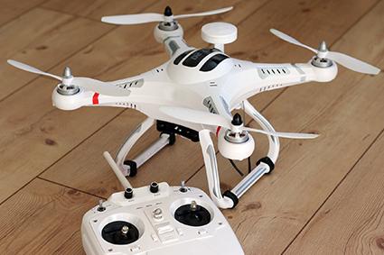 Etanchéité boitier de commande de drone