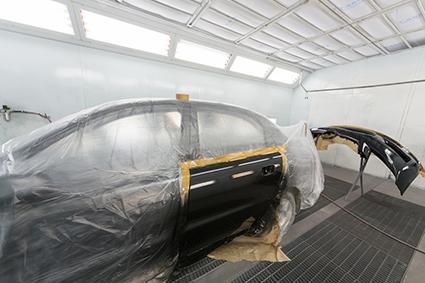 Film de masquage avant peinture ou avant traitements de surfaces mécaniques sur carrosserie