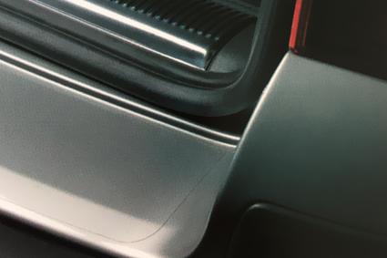 Découpe rotative de film de protection de la carrosserie