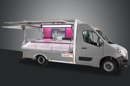 Camion alimentaire, foodtruck