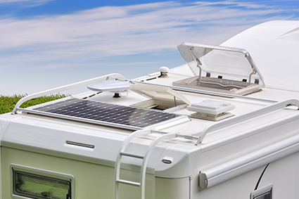 Adhésifs double face pour collage de panneaux solaires sur pavillon camping car