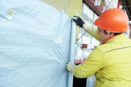 Protection temporaire sur chantier (rubans de masquage, bâches, non-tissés pour le sol, etc)