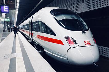 Train dans gare