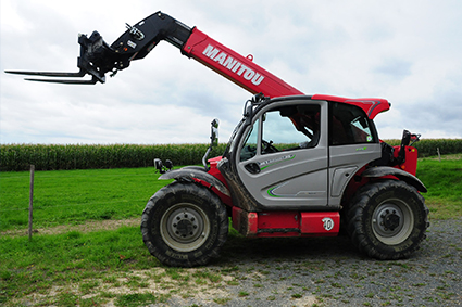 Engin de manutention manitou