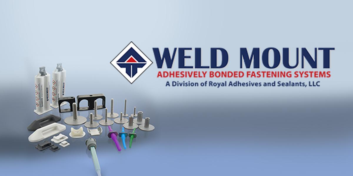 Produits Weld Mount gamme de kommerling