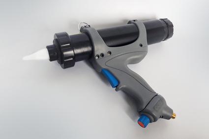 Pistolet pulvérisation de mastics